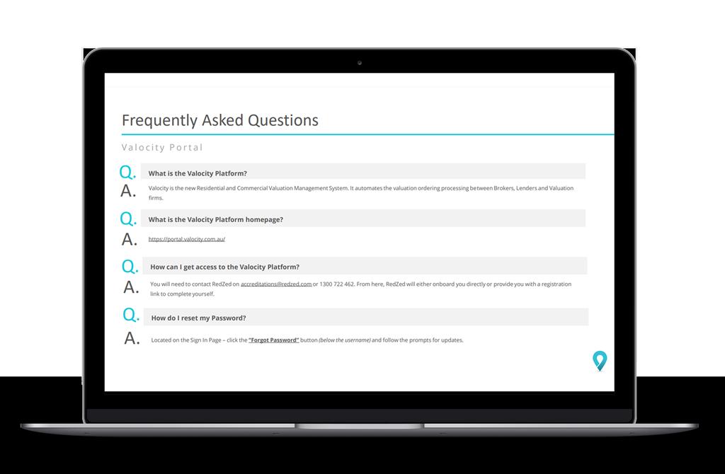 Valocity FAQ's